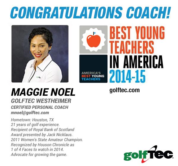 Maggie Noel Best Young Teachers