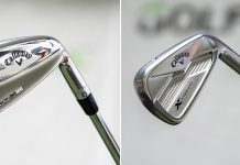 Callaway Apex MB irons and Callaway X Forged irons