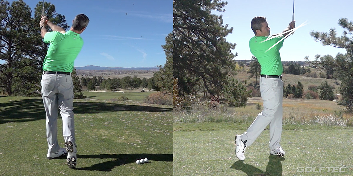 How to Train a Good Backswing- follow-through