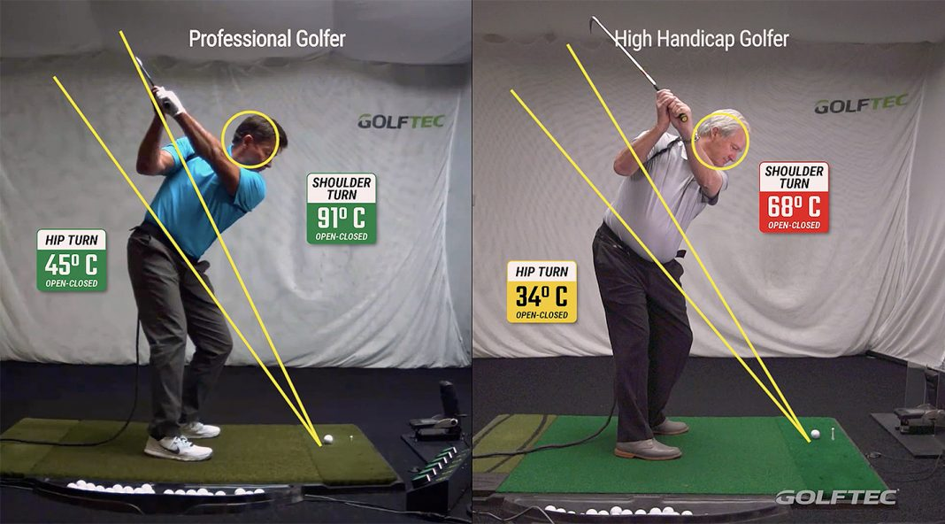 looking to add distance start with shoulder turn the
