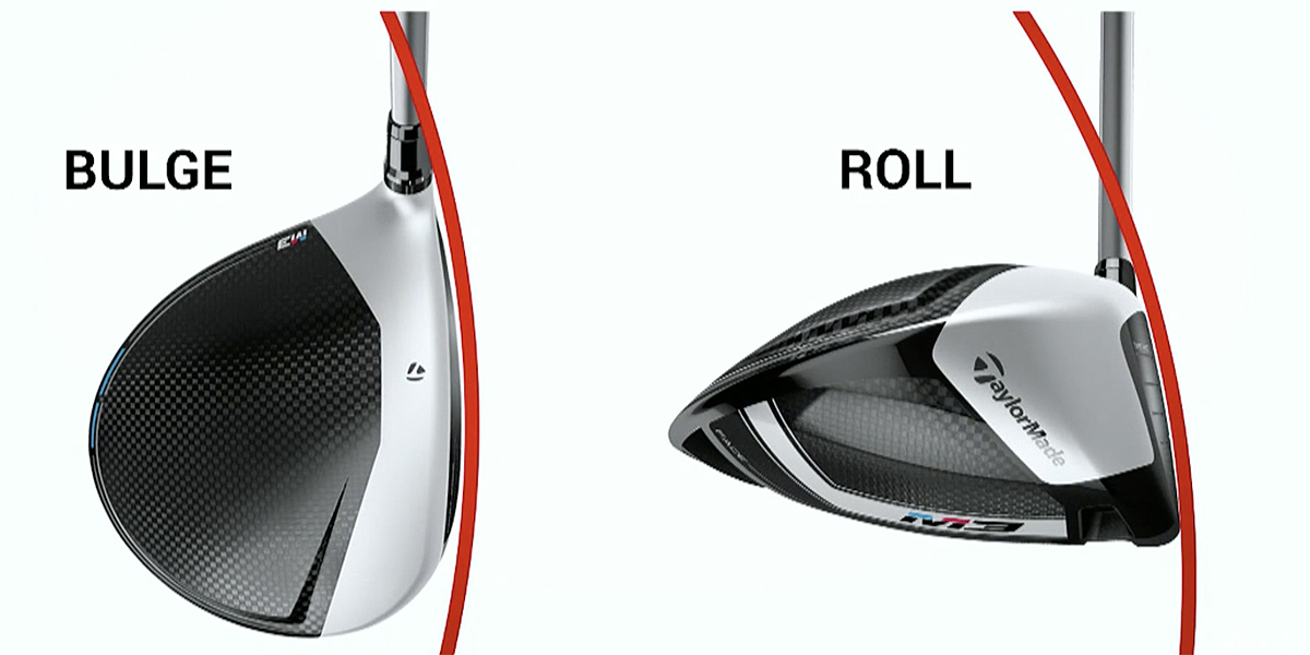 How clubface design can affect your shots- bulge and roll
