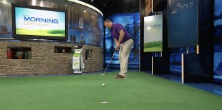 Putting angle of attack- header