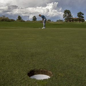 Reduce three-putts from any distance- lag putt