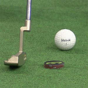 Putting angle of attack- setup