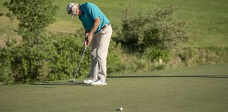 Improve putter path- header