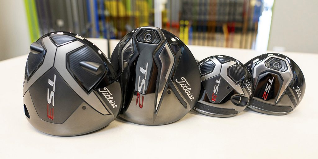 Titleist TS2 & TS3 drivers and fairway metals