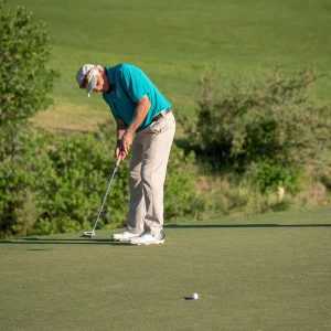 Drain more short putts with the help of this speed control drill- missed putt