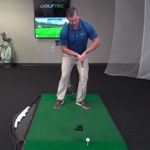 Stop mishitting drives by finding the center of the face- bad impact position