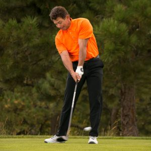 Stop mishitting drives by finding the center of the face- tee shot