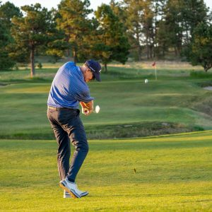 Hit more consistent irons with a steady head- iron shot