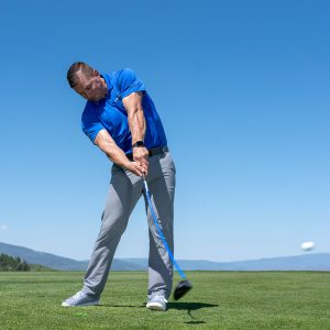 Add more distance off the tee with proper core power- impact
