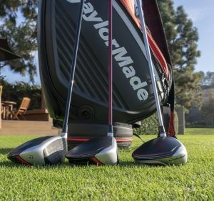 TaylorMade M5 and M6 driver & woods- lineup on course