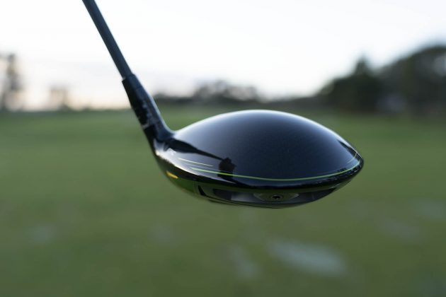 Callaway Epic Flash- driver woods review driver back