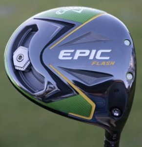 Callaway Epic Flash- driver sole