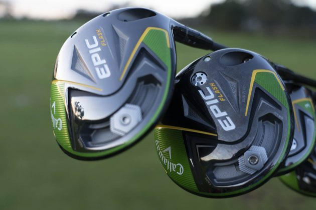 Callaway Epic Flash- driver close up
