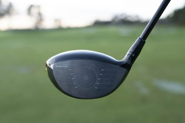 Callaway Epic Flash driver woods review sub zero driver face