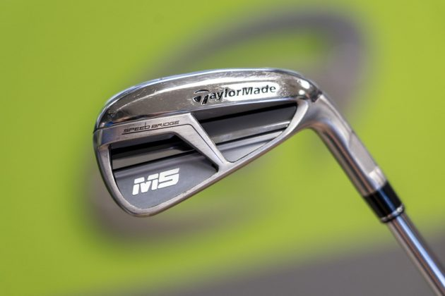 TaylorMade M5- iron back in-hand