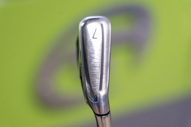 TaylorMade M6- iron bottom in-hand