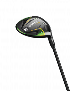 Callaway Epic Flash fairway wood sole