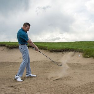 Exit every bunker using your wedges - wedge shot correctly