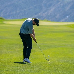Straighten out your drives with this golf swing path drill