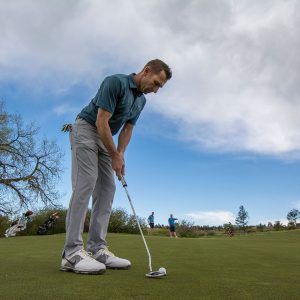 What can you learn from your putting practice- set up