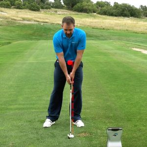 Better iron contact can equal a better golf game- address