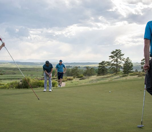 Are you going the distance with your putting?- header