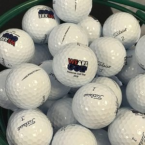 Onsite at 2019 National Golf Day- golf balls