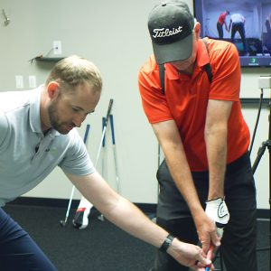 Every Golfer has a Story. This is John's- lesson