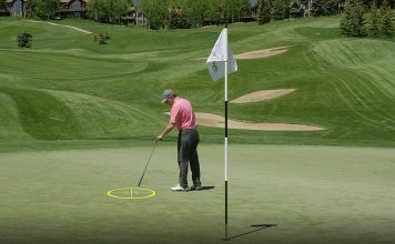 Find the perfect landing zone for every approach shot- header