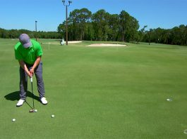 Stop wasting strokes by leaving putts short- header