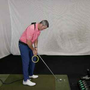 Turn your slice into a draw with these quick tips- knee flex
