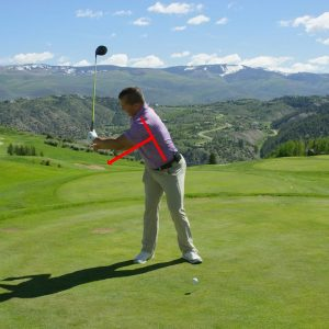Start hitting bombs with your driver ASAP!- bad position