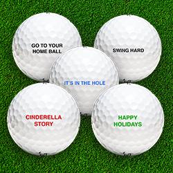 Custom Golf Balls - The GOLFTEC Scramble