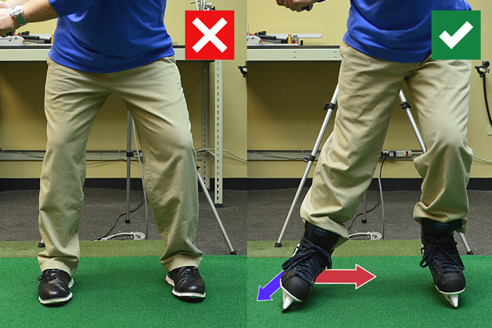 Skate Your Way To Better Footwork - The GOLFTEC Scramble