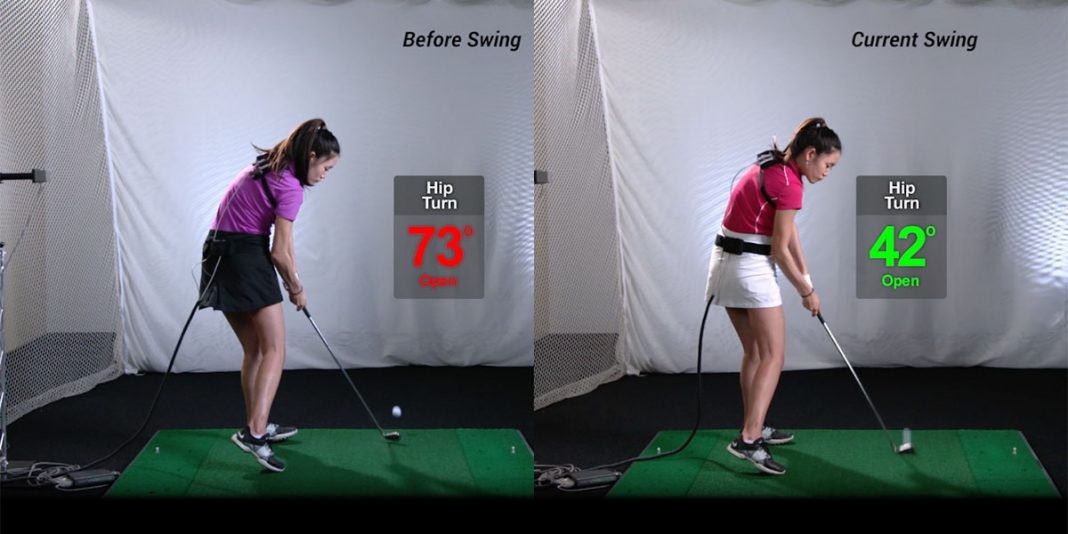 Golf Channel Feature Wrist Hinge Hip Turn Ball Drill Top