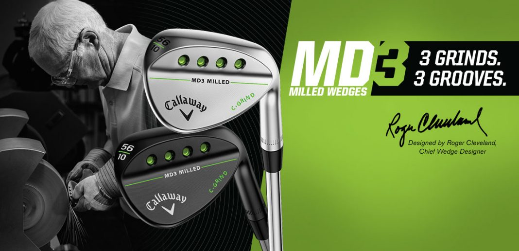 Roger Cleveland designs Callaway's MD3 Milled Wedges