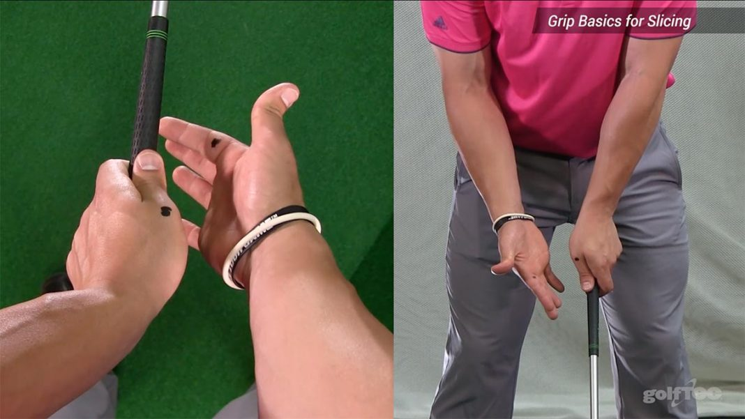 How to grip a golf club hero image