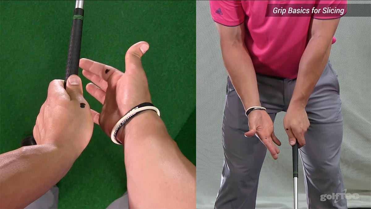 How To Grip A Golf Club Fix Your Slice And Hook The Golftec Scramble