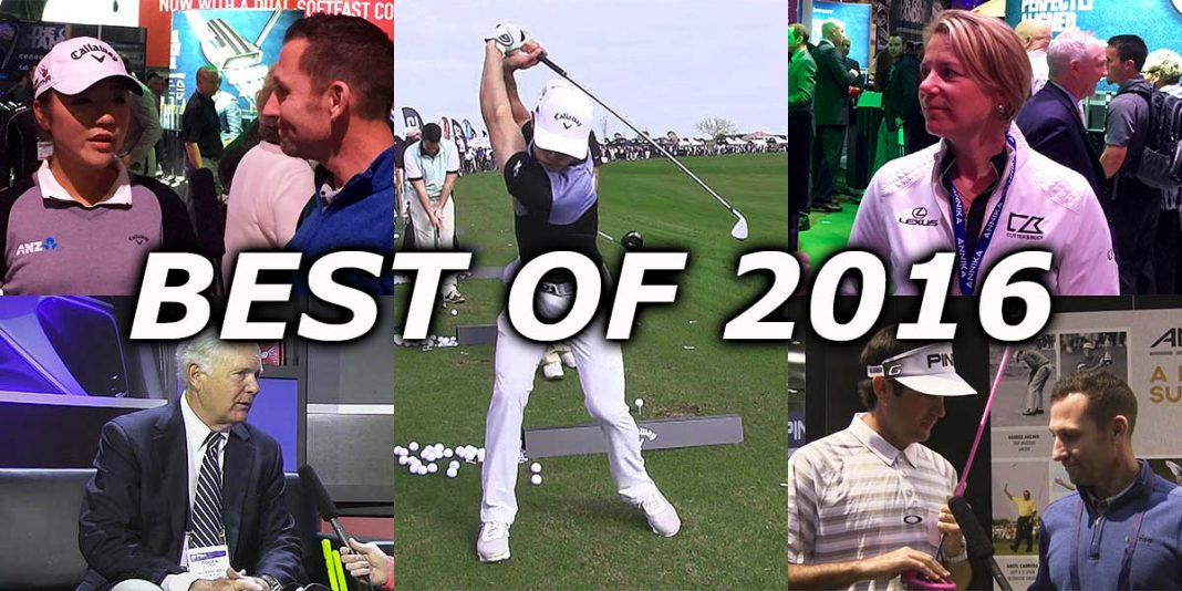 Best of 2016: Top 5 celebrity appearances on the GolfTEC Scramble this year