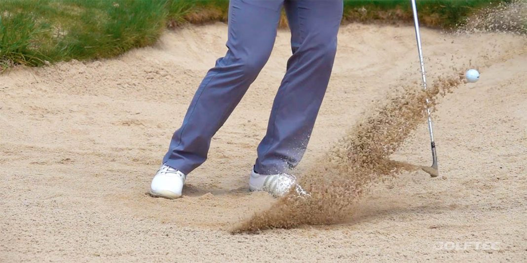 Short Game Tips: Plugged bunker shots