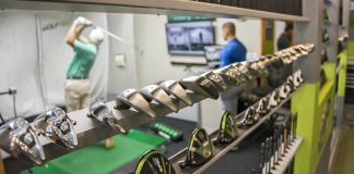 Custom club fitting with a GOLFTEC TECFIT