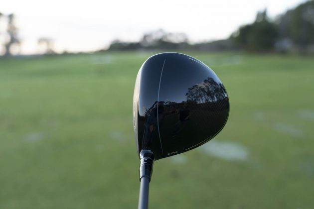 Callaway Epic Flash- driver woods review driver address