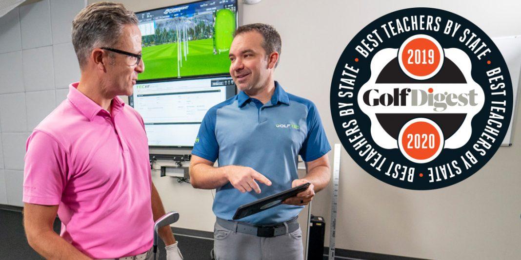 Golf Digest Best Teachers in Your State- header image