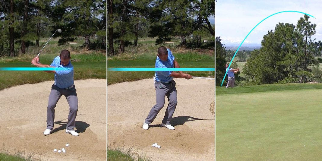 The Sand Shot Distance Control Exercise