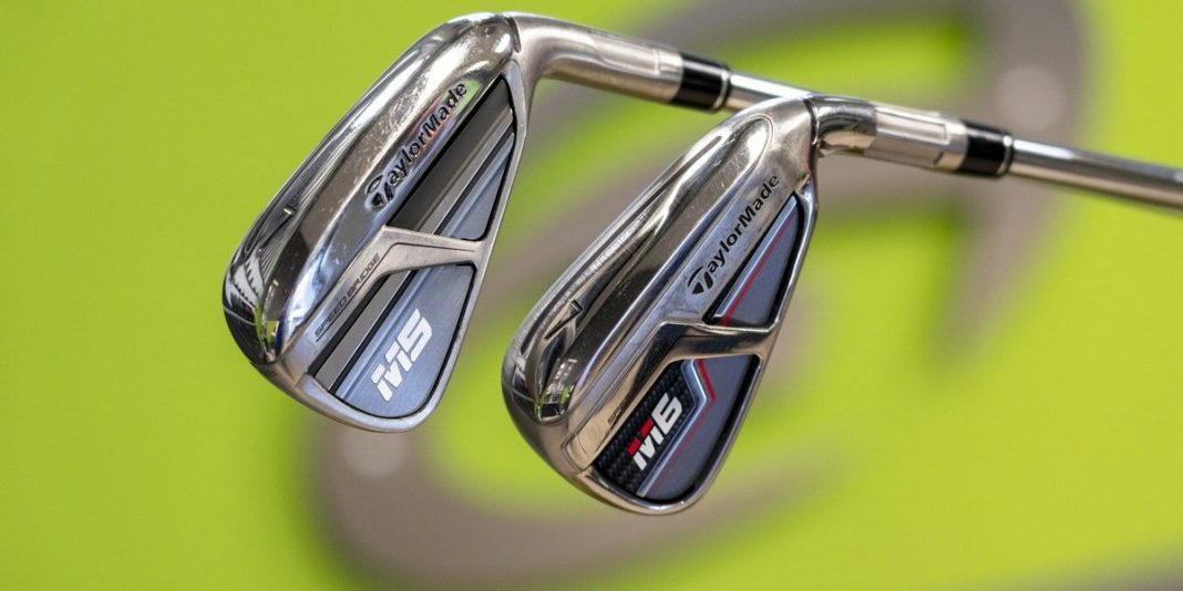 TaylorMade M5 M6- irons back in-hand
