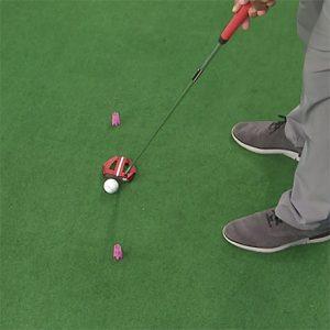 putting stroke path tee drill