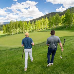 Make more putts by sharpening up your green reading- walking up to the green