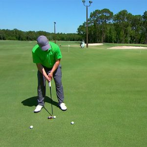 Stop wasting strokes by leaving putts short- drill